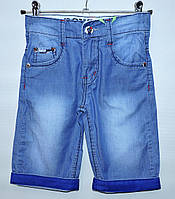 Бриджі  для хлопчика  джинсові  6-10 років  FlyFamily   Jeansclub