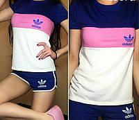 Спортивный женский летний костюм Adidas