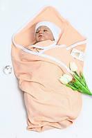Летний плед-конверт для новорожденных