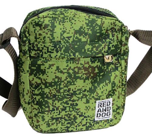 Молодежная сумка на плечо Red and Dog Tomen - camufliag камуфляж ВхШхГ: 20х16х6 см.