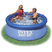 Бассейн семейный круглый надувной Intex 28120