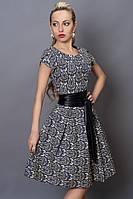 Женское платье с  узором летнее