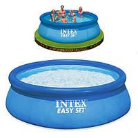 Бассейн семейный круглый надувной Intex 28130