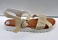 Женские босоножки на низком ходу разные цвета KF0342