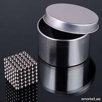 Неокуб Neocube магнитный конструктор-головоломка 216 +1 шарик, 5 мм.