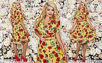 Шикарные платье в цветы большие размеры !