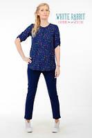 Рубашка Rustic (Синий В Цветочек)