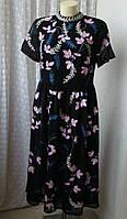 Платье вечернее вышивка Frock&Frill р.48 6835