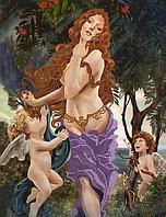 """Схема для вышивания бисером на подрамнике (люди) """"Венера"""""""