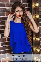 Блузка без рукавов в расцветках 4028