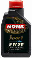 Моторное масло MOTUL SPORT 5W50 (1L) синтетика на основе эстеров