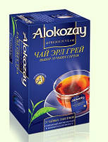 Чай Alokozay (Алокозай) ЧЕРНЫЙ ЦЕЙЛОНСКИЙ ПАКЕТИРОВАННЫЙ  С АРОМАТОМ БЕРГАМОТА 25 пакетов
