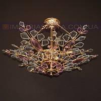 Люстра хрустальная припотолочная IMPERIA девятиламповая LUX-352224