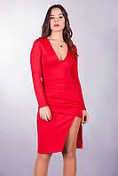 Платье женское разрез, фото 1