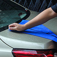 Полотенце из микрофибры 30x70 см, автомобильное, впитывающее, для мойки