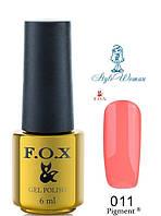 Fox Gel Polish Фокс гель лак 6 мл №011