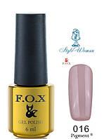 Fox Gel Polish Фокс гель лак 6 мл №016