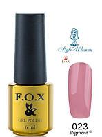 Fox Gel Polish Фокс гель лак 6 мл №023