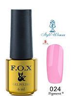 Fox Gel Polish Фокс гель лак 6 мл №024