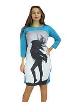 Платье женское рисунок полубатал, фото 1