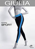 Спортивные леггинсы (Blue (Черный/Синий))