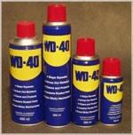 Универсальная проникающая смазка WD-40 400 ml.