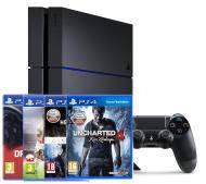 Игровая приставка Sony PlayStation 4 (PS4) 1TB + 4 игры