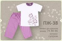 Пижама детская ПЖ38 тм Бемби