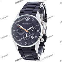 Часы мужские наручные Emporio Armani AR-5905 Silver-Black