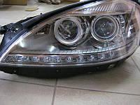 Фары передние DEPO с блоками Mercedes S-Class W221