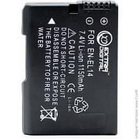 Аккумуляторы И Зарядки Для Фото-видео Техники Extradigital Nikon EN-EL14 Chip (BDN2522)