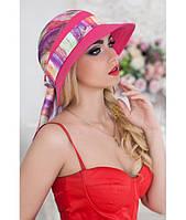 Женская летняя малиновая шляпа с опущенными полями, цвета в ассортименте