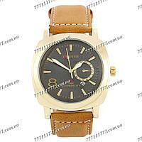 Часы мужские наручные Curren 8139 Gold-Black-Brown
