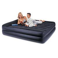 Велюровая кровать надувная прямоугольная Intex 66720