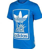 "Футболка Adidas Originals ""NYC"", синий"