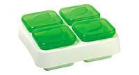Контейнеры для заморозки зелени и трав Snips 400мл (15*15*5.7см)