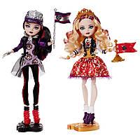 Куклы Рейвен Квин и Эппл Вайт Ever After High School Spirit 2-Pack