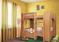 Кровать 2-х ярусная Дует 2 (с основой под матрас / без матраса)