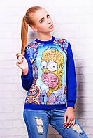 Свитшоты женские в украине | Simpsons кофта Свитшот №2