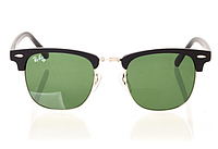 Очки Ray Ban Clubmaster Black-Silver-Green 8477