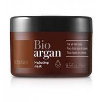 Аргановая маска для увлажнения и питания волос Lakme K.therapy Bio Argan