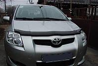 Дефлектор капота (мухобойка) TOYOTA AURIS 2007-2009
