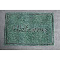 Придверный коврик Welcome green tea - 40х60