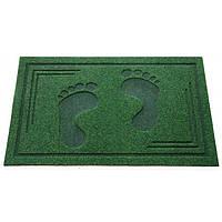 Придверный коврик СТОПЫ green - 45х75