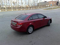 Дефлекторы окон (ветровики) Chevrolet Cruze sd 2009