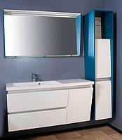 Комплект мебели для ванной Peggy 125 Буль-буль (цвета на выбор)