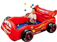 """Детский надувной игровой центр с шариками """"Тачки"""" INTEX (48668) KHT/00-62"""