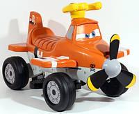 Электромобиль детский квадроцикл Самолетик Дасти аккумулятор ZP 5211