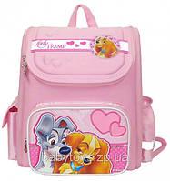 Ранец рюкзак Леди и бродяга детский школьный ортопедический 1 Вересня 551323
