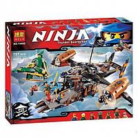 """Конструктор Ninjago Bela 10462 """"Цитадель Несчастья"""", 757 деталей, 6+, мини-фигурки человечков/обезьянки"""